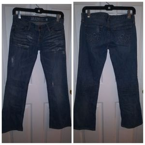Guess distressed jeans size 26